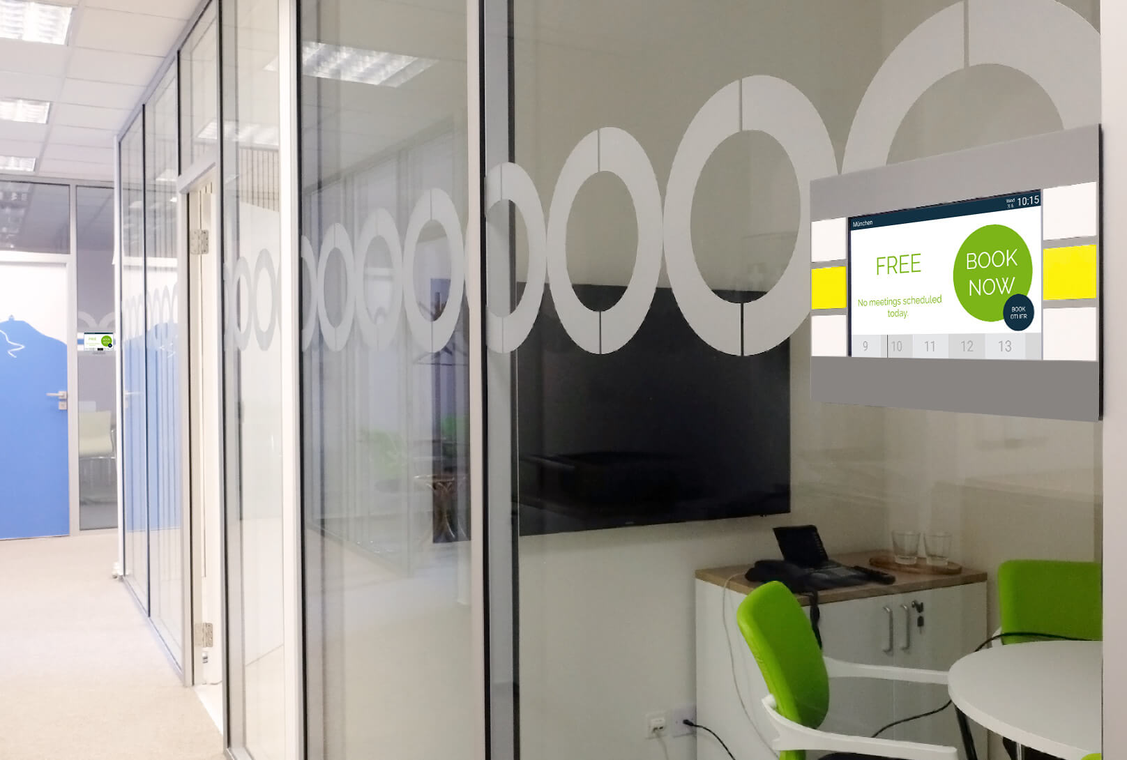 XEVOQ - Meeting room booking system - meeting rooms